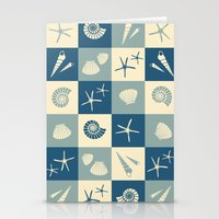 nautical Stationery Cards featuring Nautical  by Julscela