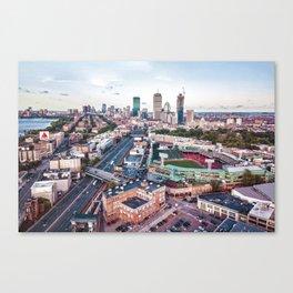 Boston City Canvas Print