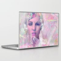 erotic Laptop & iPad Skins featuring When you appear in my dreams by Ganech joe