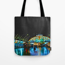 Last Train From Thailand Tote Bag
