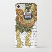 leon iPhone & iPod Cases featuring Leon by Katarina Pavlovic