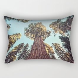 The Largest Tree in the World Rectangular Pillow