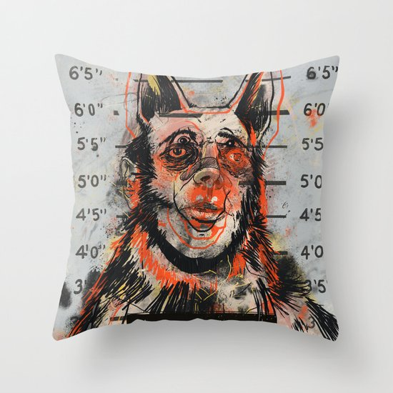 Waldick Dogman Throw Pillow