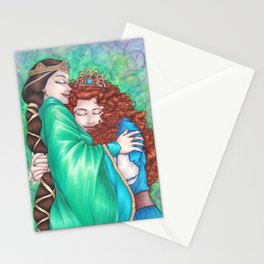 Merida and Elinor (version 2) Stationery Cards