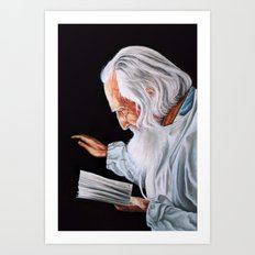 Old Wise Art Print