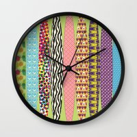 surfing Wall Clocks featuring Surfing? by DesignsByMarly