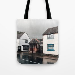 Rainy day in Derbyshire Tote Bag