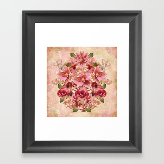 Daybreak Flourish Framed Art Print