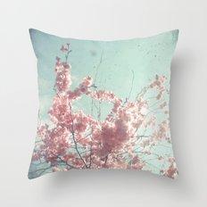 Candy Floss Throw Pillow