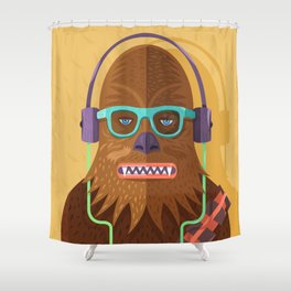 Chewy Shower Curtain