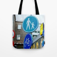 Holland LOVES Traffic Signs! Tote Bag