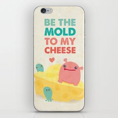 Be My Cheese Mold iPhone Skin
