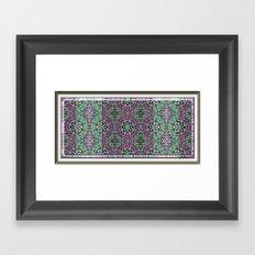 Bandanna Print Framed Art Print