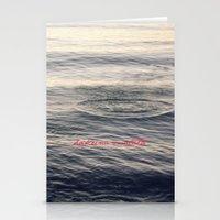 hakuna Stationery Cards featuring Hakuna Matata by Christine Hall