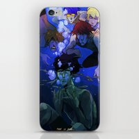 iwatobi iPhone & iPod Skins featuring FREE! IWATOBI SWIM CLUB by Frank Odlaws