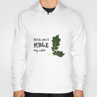 humor Hoodies featuring Kale humor by A*WIZ