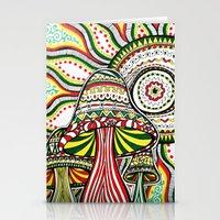 rasta Stationery Cards featuring Rasta by Marcela Caraballo
