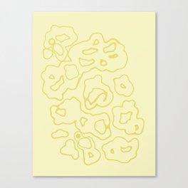 """Doray"" - (beige) Canvas Print"
