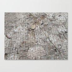 Mosaic Tile Floor of Augustus Caesar, Capri, Italy Canvas Print