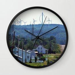 Turbine Hill Wall Clock