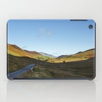 cassia beck iPad Cases featuring Views from Keskadale and Keskdale Beck back down the Pass. Lake District, UK. by liamgrantfoto