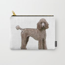 Elegant Poodle Carry-All Pouch