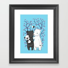 Bear Family Framed Art Print