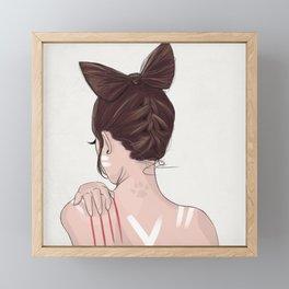 Catwoman Framed Mini Art Print