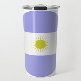 Argentine flag Travel Mug