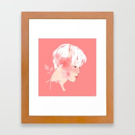 Rose :: Grace Framed Art Print