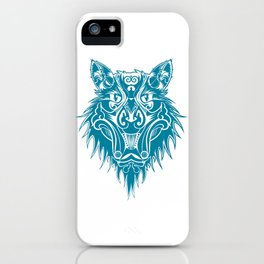 Marcel the cat wolf iPhone Case