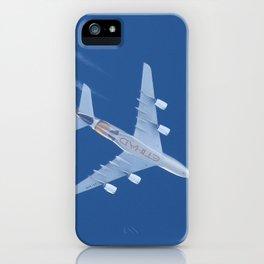 Airbus A380 Etihad Airways, 12200m iPhone Case
