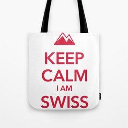 KEEP CALM I AM SWISS Tote Bag