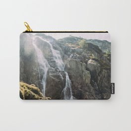 Waterfall In Sunlight Carry-All Pouch