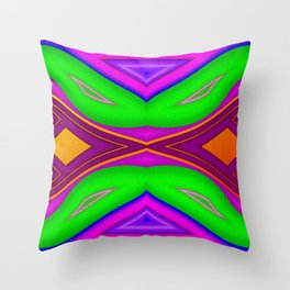 Bad dreams switching ... Throw Pillow