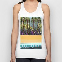 pool Tank Tops featuring Tropical Pool by Abstract Designs