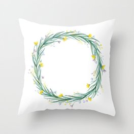 Spring comes early this year Throw Pillow