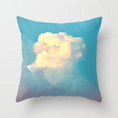 Bubblegum Throw Pillow