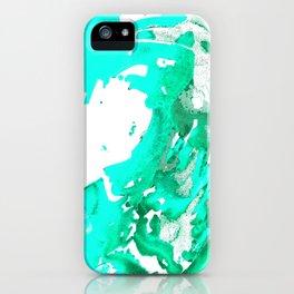 Aqua Aguas Aguas iPhone Case