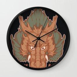 Dragon Tea Mock Ad (Rectangular) Wall Clock