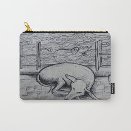 Alice the Dog Carry-All Pouch
