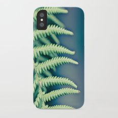 Into the forest iPhone X Slim Case