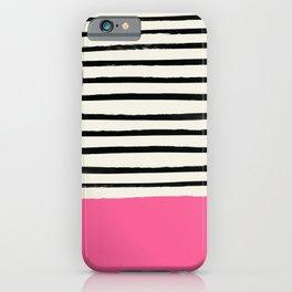 Watermelon & Stripes iPhone Case