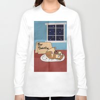 hamster Long Sleeve T-shirts featuring Hamster Cookies by ne11amae