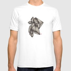 Paperoll MEDIUM Mens Fitted Tee White