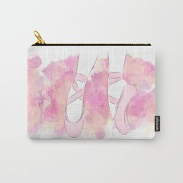 Pink Pointe shoes Carry-All Pouch