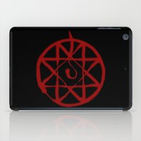 fullmetal iPad Cases featuring Alphonse by KanaHyde