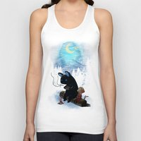 freeminds Tank Tops featuring Camping 2 by Freeminds