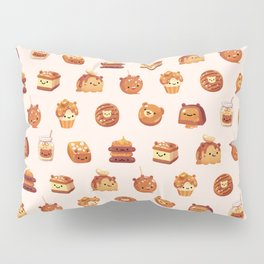 Salted caramel bear Pillow Sham