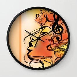 Morning Melody  Wall Clock